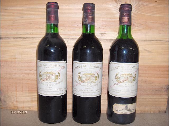 Chateau Margaux 1978 (1)<BR>Chateau Margaux 1979 (2)<BR>Chateau Margaux 1982 (2)<BR>Chateau Margaux 1983 (1)<BR>Chateau Margaux 1986 (1)