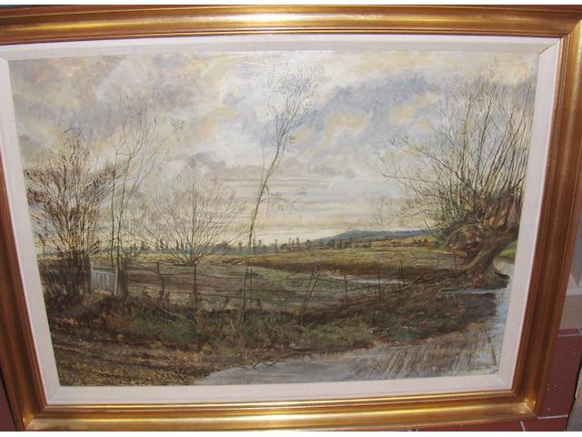 Three pictures by Maurice Shepherd, Kent Lanscape, Quiet Evening & Sun in the Wood