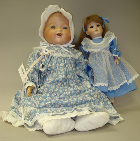 Schoenau & Hoffmeister 1909 bisque head doll 2