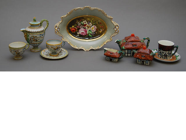 A large collection of British and Continental ceramics