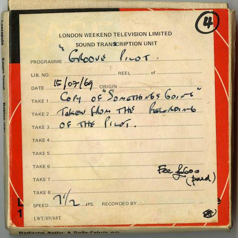 Reel-to reel tape recordings,