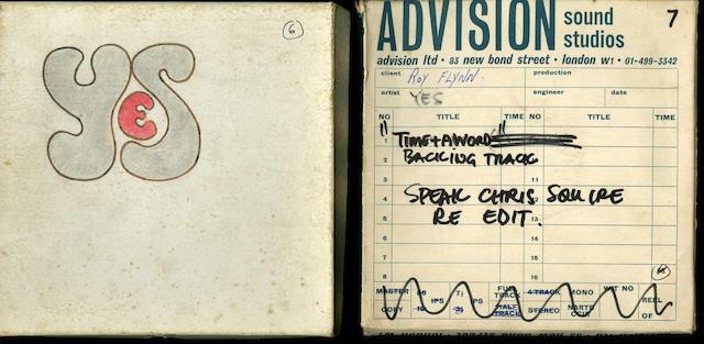 Various reel-to-reel tape recordings,
