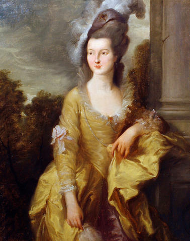 After Thomas Gainsborough, 19th Century Portrait of the Hon. Mrs Graham,