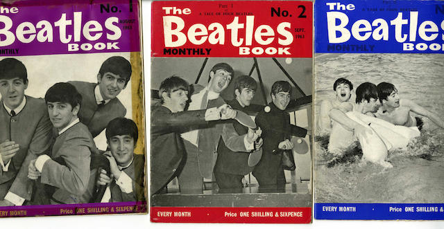 A collection of Beatles publications, 1960s,