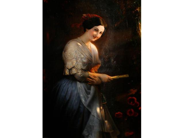 Spanish School, 19th Century Portrait of a lady