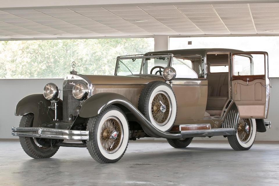 1929 Mercedes-Benz Model 630 K coupé-chauffeur, Chassis no. 36278 Engine no. 78662