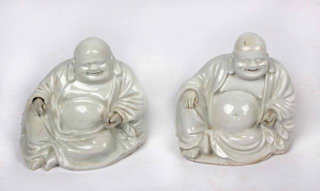 A blanc de chine figure of Buddha