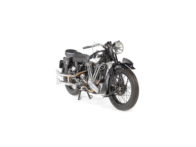 1938 Brough Superior 982cc SS100 Frame no. M1S/1994 Engine no. BS/X2 1057