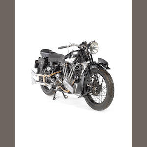 1938 Brough Superior SS100,1938 Brough Superior 982cc SS100 Frame no. M1S/1994 Engine no. BS/X2 1057