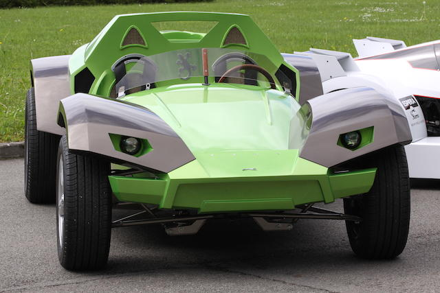 Presenté au salon de Genève 2009,2009 Futura - Sbarro concept-car Gecko