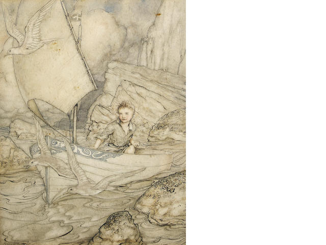 Arthur Rackham (British, 1867-1939) Child's Future