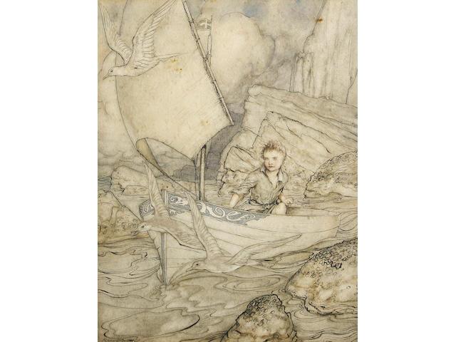 Arthur Rackham (British, 1867-1939) Child's Future