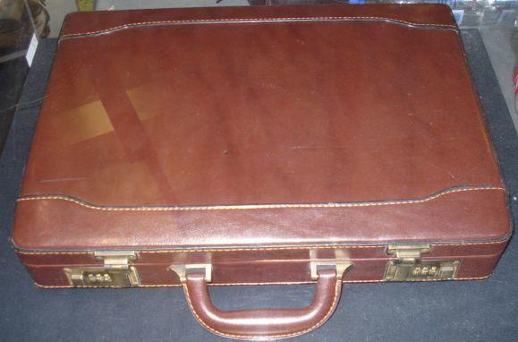A prop briefcase from 'Die Another Day', 2002,