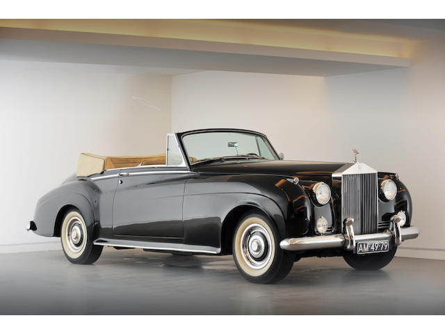 1961 Rolls Royce Silver Cloud II Convertible, Chassis no. LSWC730 Engine no. 365
