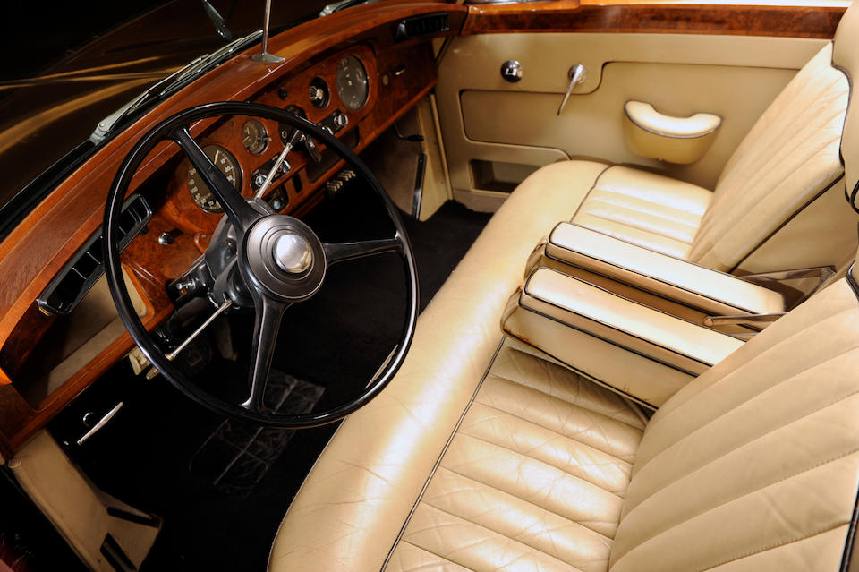 1961 Rolls-Royce Silver Cloud II Drophead Coupé, Chassis no. LSWC730 Engine no. 365