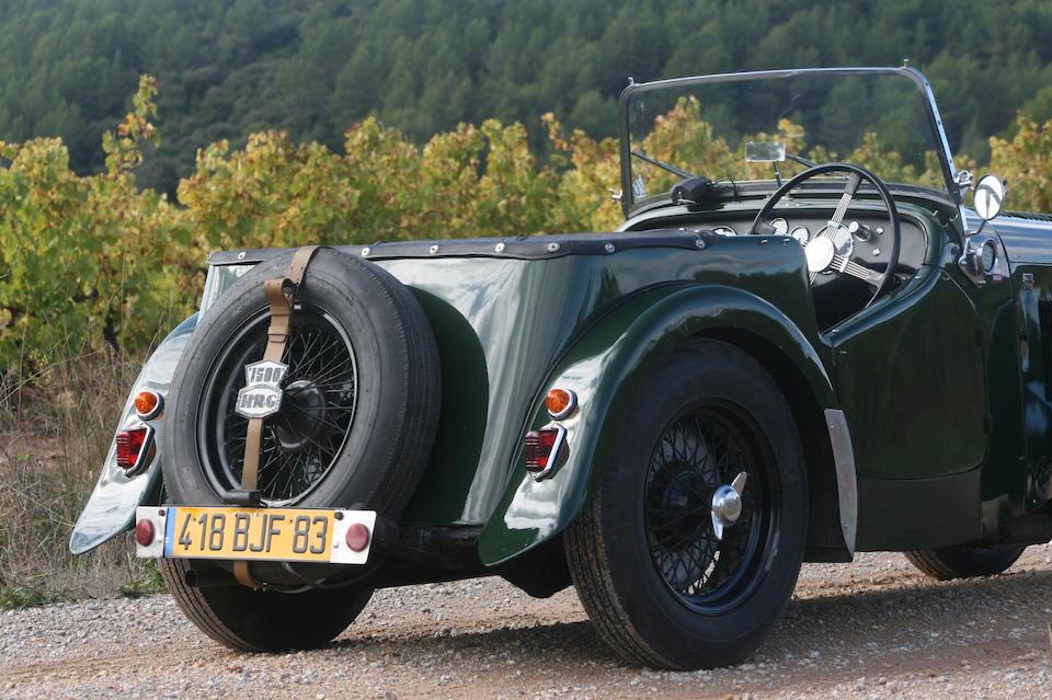 Ex voiture de démonstration de l'usine / The ex-factory demonstrator 'NPF 206',1949 HRG 1500 Sports  Chassis no. W 194 Engine no. C 172 Q