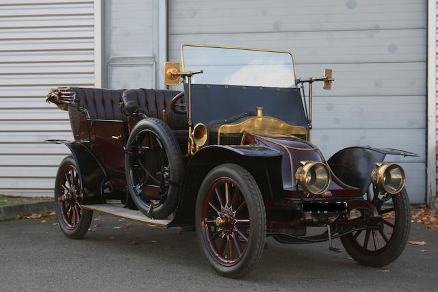 1910 Clement Bayard Landaulet Type AC4C2, Chassis no. 12391