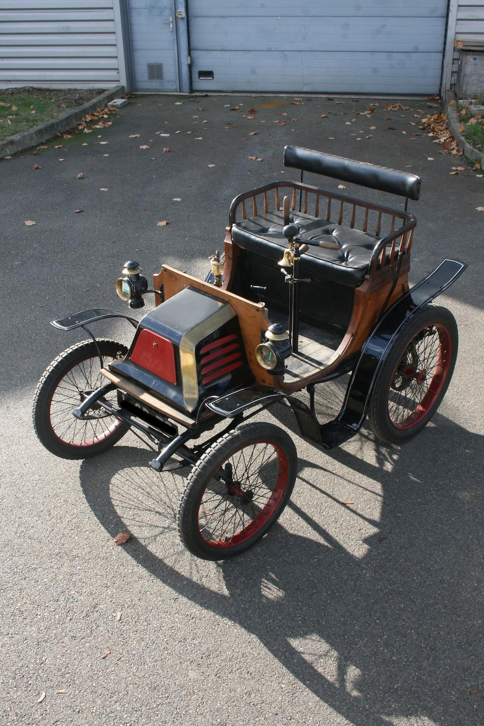1899 Georges Richard Type A, Chassis no. 5