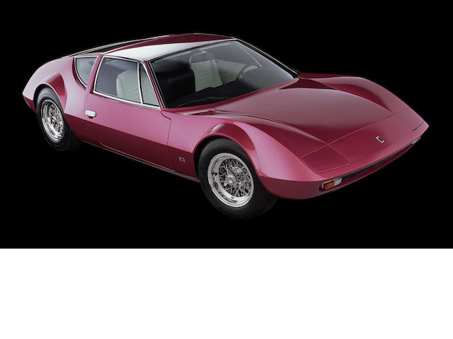 1970 Monteverdi Hai 450 SS, Chassis no. TNT 101 Engine no. MN 426310070471