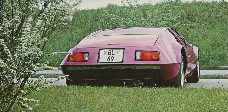 1970 Monteverdi Hai 450SS Coupé, Chassis no. TNT 101 Engine no. MN 426310070471
