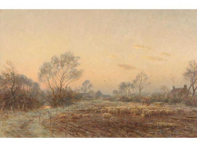 William Darling McKay, RSA LLD (British, 1844-1924) 'A Winter Morning'