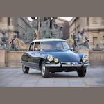 1966 Citroën DS 21 Pallas , Chassis no. 438 09 02