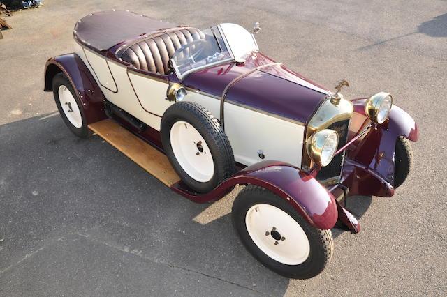 1921 De Dion-Bouton Type IE skiff-tôlé  Chassis no. 3580