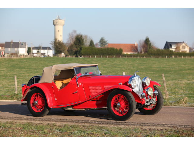 1936 AC 16/80hp Competition Sports, Chassis no. L362 Engine no. UBS71/2 312