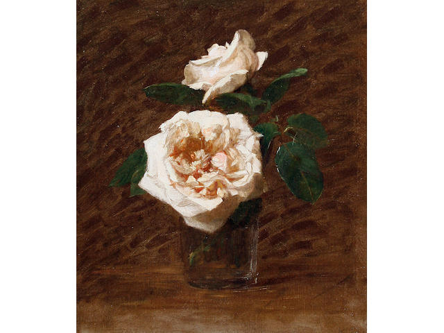 Victoria Dubourg Fantin-Latour (French, 1840-1926) Study of roses