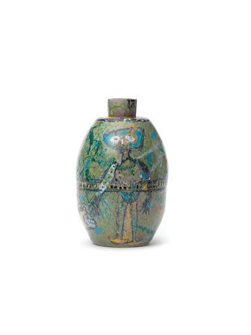 Lucebert (Dutch, 1924-1994) A unique earthenware vase, 1950