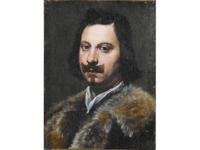 Genoese School, 17th Century Portrait of a gentleman, unframed