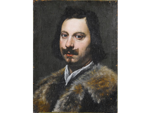 Genoese School, 17th Century Portrait of a gentleman, unframed
