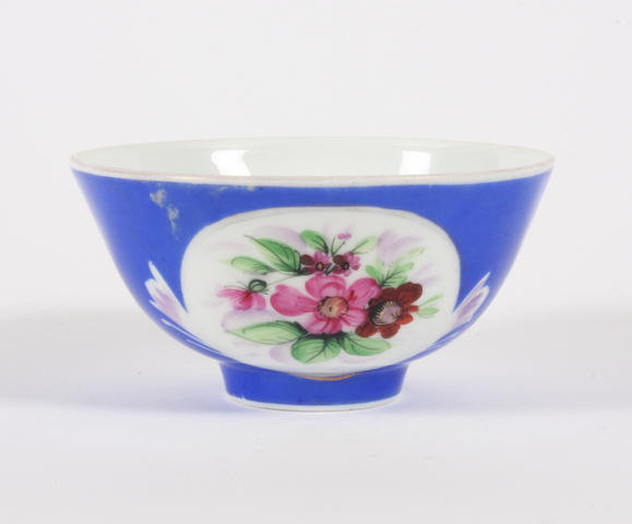 A Russian Gardner Manufactory porcelain bowl 19th century