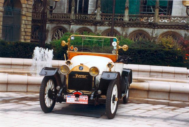 1911 Pierron Cabriolet 2 places, Chassis no. 285