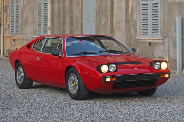 no reserve, 1975 Dino 308 GT4 Coupé  Chassis no. 09378