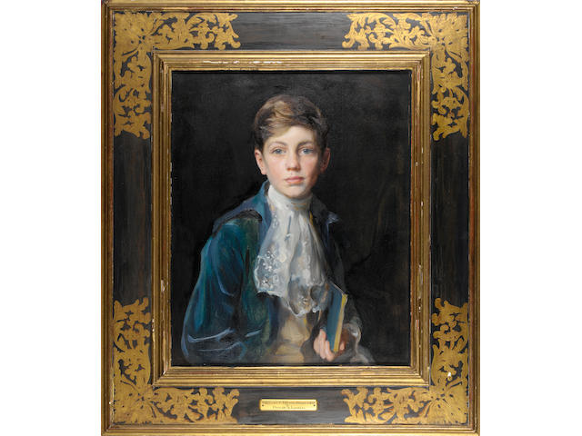 Philip Alexius de Laszlo (1869-1937) Portrait of Raymond P. Johnson-Ferguson 66.5 x 54.5 cm. (26 1/4