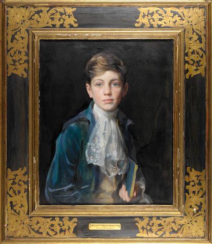 Philip Alexius de Laszlo (1869-1937) Portrait of Raymond P. Johnson-Ferguson 66.5 x 54.5 cm. (26 1/4 x 21 1/2 in.)