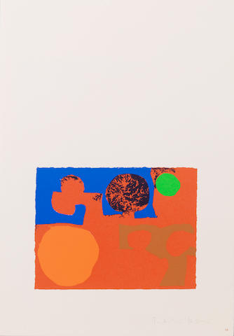 Patrick Heron, Artist Book 'The Shapes Of Colour', published by Chris Prater at Kelpa