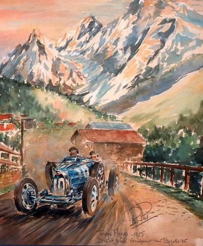 Rob Roy, (1909 – 1992) 'Targa Florio 1928', 1983,