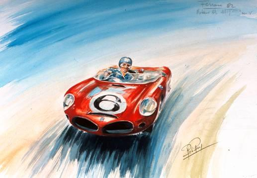 Rob Roy (1909 – 1992) 'Ferrari 1962' 1975,