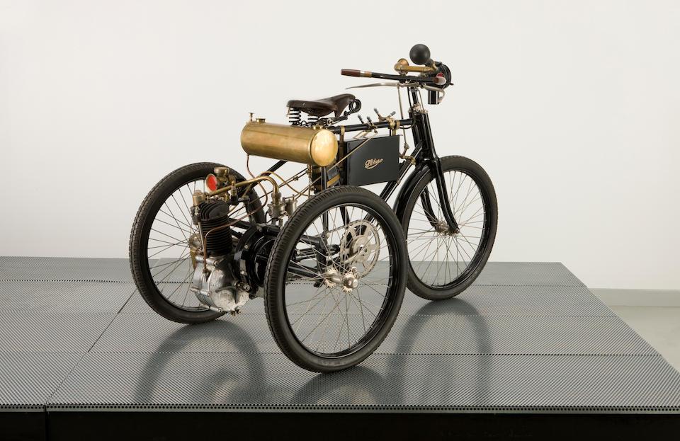 c.1899/1900 Phebus 1¾ hp Motor Tricycle Engine no. 9