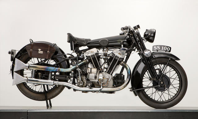1931 Brough Superior SS100 JAP engine