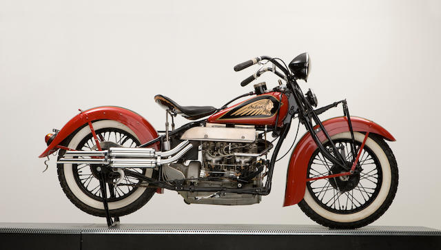 1937 Indian Twin Carburettor 1265cc 4-Cylinder