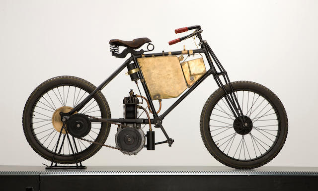 c.1900 De Dion Bouton-engined Motorcycle (see text)