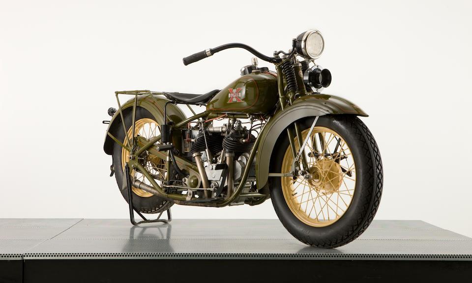 1930 Excelsior 750cc Super-X Engine no. 7206
