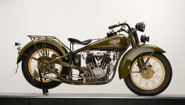 1930 Excelsior 750cc Super-X Engine no. 7206