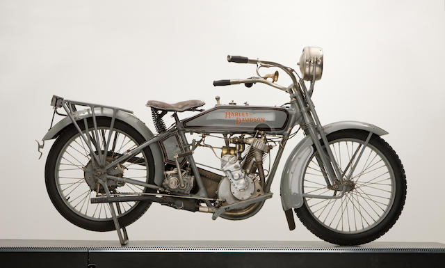 1916 Harley-Davidson 500cc Single,