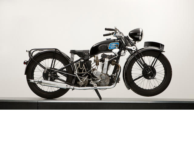 c.1934 Monet Goyon Single OHV Twin Port (Koehler Escoffier Engine),