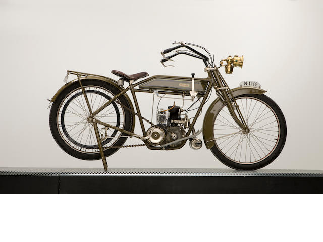 1914 The Vindec Two stroke,