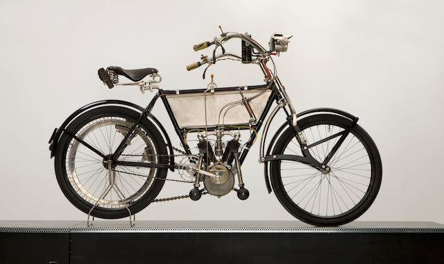 c.1905 Peugeot 3½hp V-Twin Frame no. 8017 Engine no. 12577